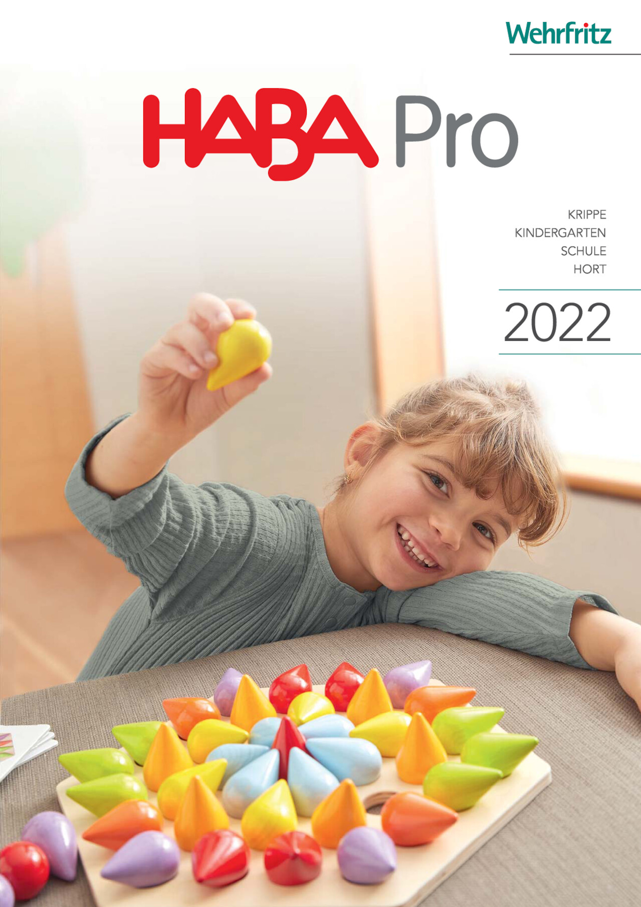 Wehrfritz Hauptkatalog 2019 Für Krippe, Kindergarten Und Schule  (Deutschland)